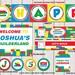 Building Blocks Party Package Digital, Colorful Blocks Pack Printable, personalize printable pack PDF