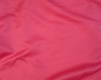 Fuchsia pink polyester casa matte satin special occasion fabric