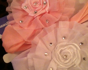 Baby Girls swarvoski crystal headband