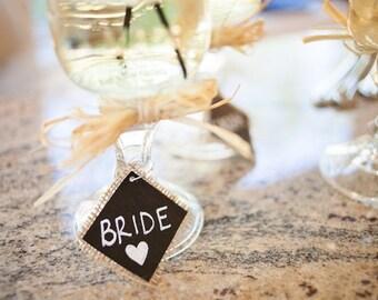 Mason Jar Wine Glass- Bridesmaid Gifts