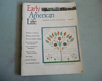 Early American Life Magazine, Vintage Magazine, Inns, American Heartland, Shakers in America, Classic Magazine, Americana, Old Time Magazine