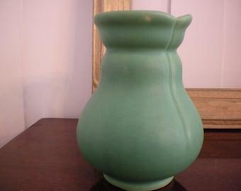 Weller Matte Green Vase