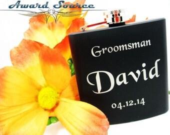 1 Wedding Groomsmen Flask