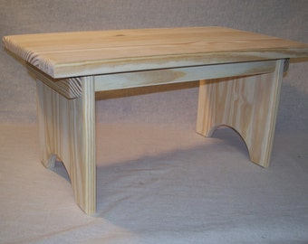 Unfinished Earthbench Brand Standard Household Step