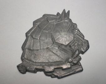 Vintage Cast Aluminum Horse Head