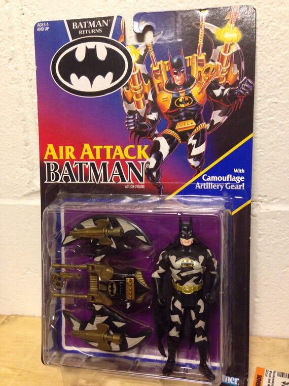 Air attack batman from batman returns kenner 1991 vintage for Home decor kenner
