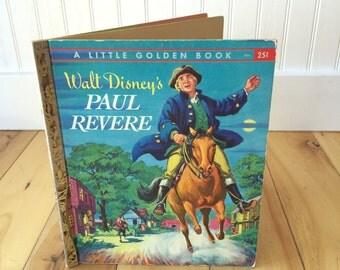 Walt Disney's Paul Revere Little Golden Book