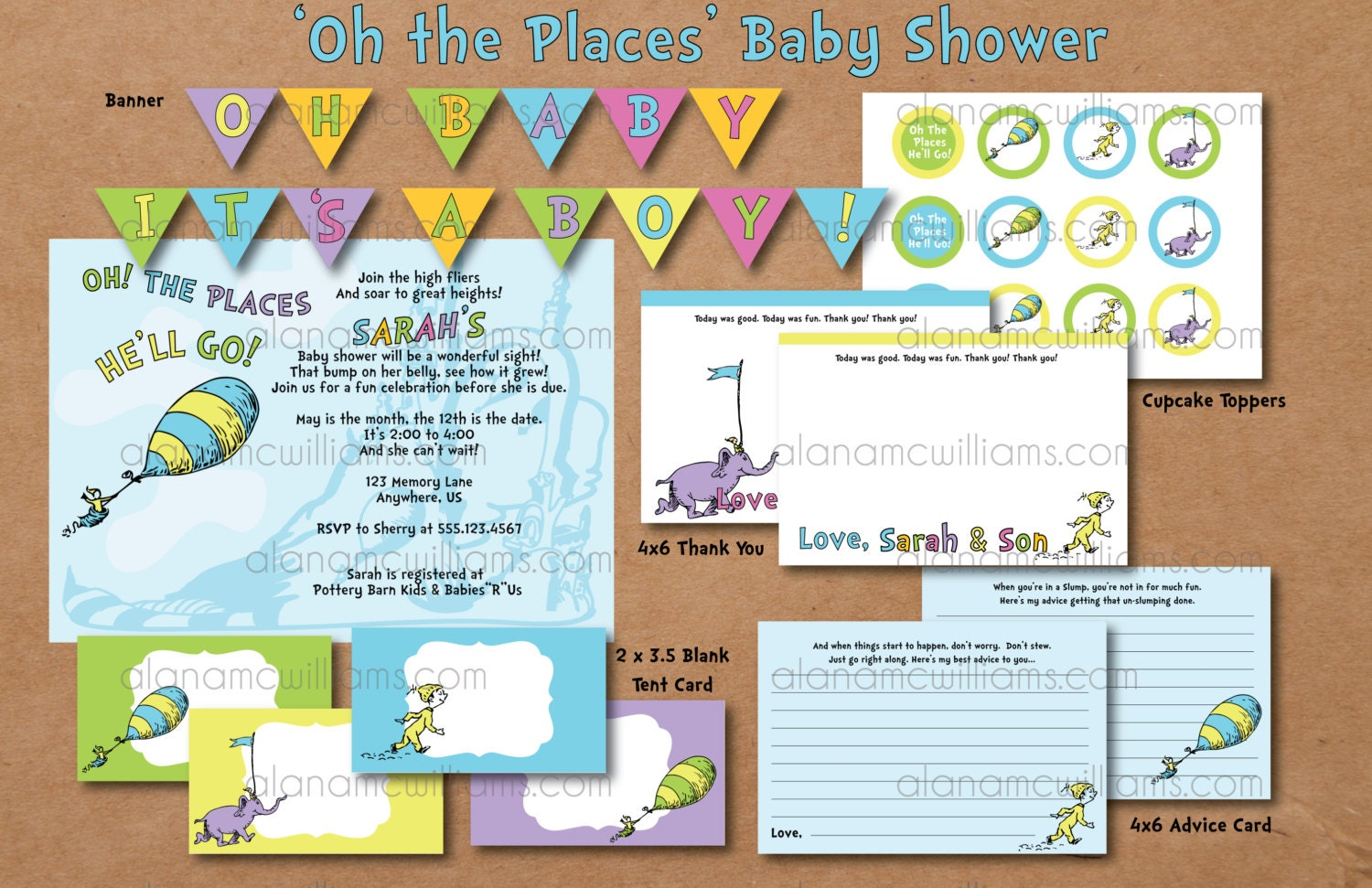 oh the places you 39 ll go dr seuss baby shower by paperiethings