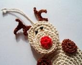 Reindeer with surprise - crochet