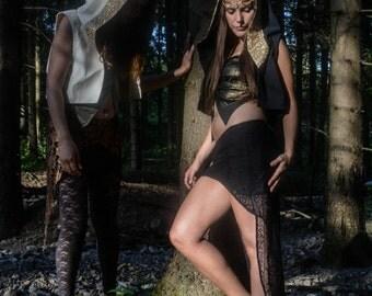 50 % of Lace Skirt // Night Wanderer