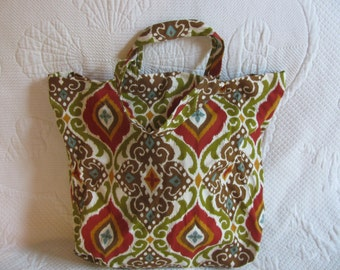 Market bag or tote-green