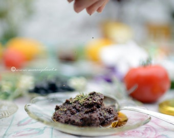 Handmade Olive Paste from Kalamata olives, Artisan Olive Spread, Olive Pate, Traditional Family recipe from kalamata olives,  healthy snack