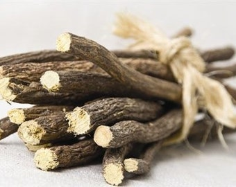 Whole Licorice Root/Herbs 4 oz 6-8 sticks. Multiple Health Benefits!!!