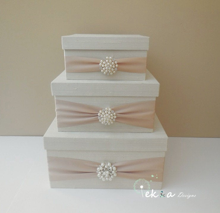 Wedding Money Box: Wedding Card Box Holder / Wedding Money Box / By EshepDesigns