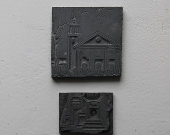 Church Printing Press Stamps