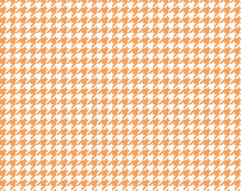 Peach houndstooth craft  vinyl sheet - HTV or Adhesive Vinyl -  Peach and white pattern vinyl  HTV421