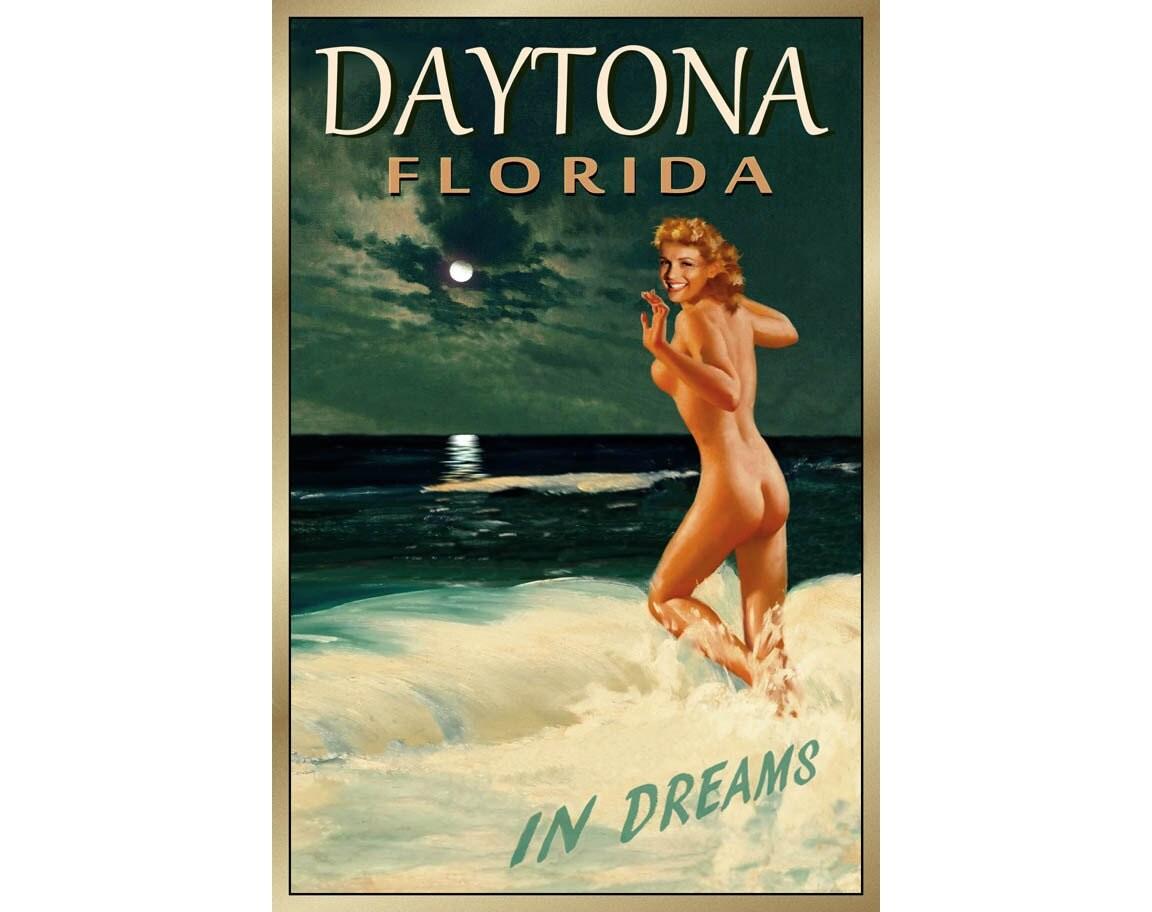 DAYTONA BEACH Florida-New Original Marilyn Monroe Poster 4