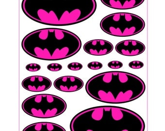 Pink Batgirl Logo Printable Pictures to Pin on Pinterest ...