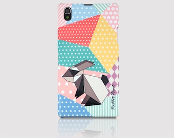 Sony Xperia Z1 Case - Origami Rabbit (P00057)