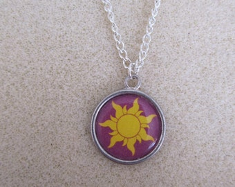 Sun Emblem Necklace