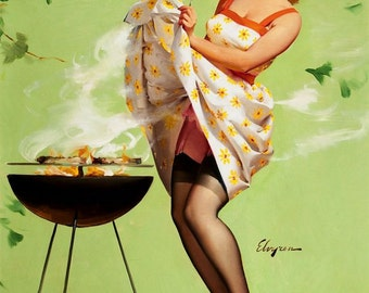 1950's Vintage Pin-Up Girl Poster 24