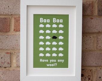 Baa Baa - Gicleé Print