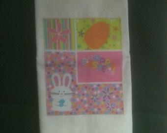 Easter Flour Sack Towel         ** FREE SHIPPING **