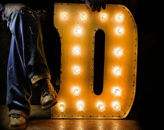 marquee letter marquee sign lighted metal marquee sign carnival letter custom signs - Lighted Marquee Letters