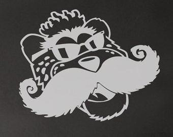 Jacksonville Jaguars mascot with a sweet mustache