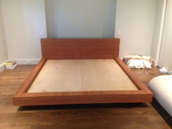 Items Similar To King Size Bamboo Bed Frame And Bench On Etsy