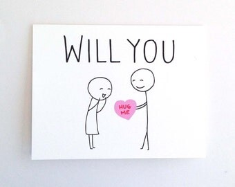 Cute Love Card for Boyfriend  Anniversary Card for Husband