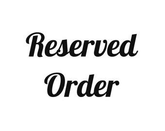 Reserved Order- Mermaid
