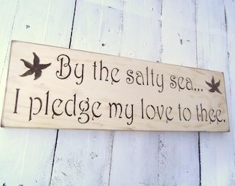 Rustic Beach Wedding Signs, Beach Wedding Signs, Destination Wedding, Nautical Wedding, Bohemian Wedding Decor,