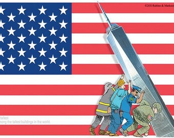 Daddy's Home 9/11 Tribute - Giclee Print