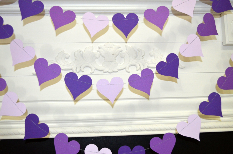 Purple Hearts Wedding Purple heart Ga...