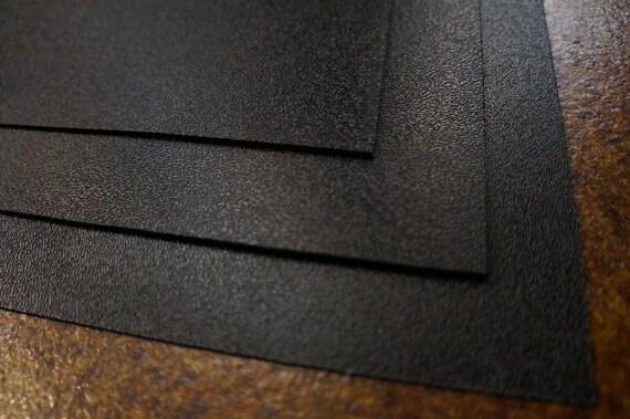 1 Large Black ABS Plastic Sheet 24x24x1/12 0.08
