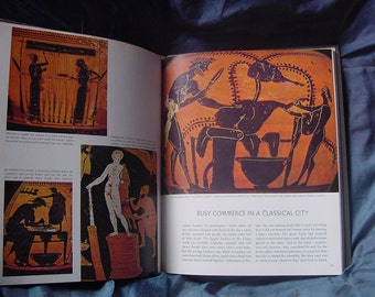 Rare Book Classical Greece Great Ages of Man Ancient Greek History by CM Bowra.