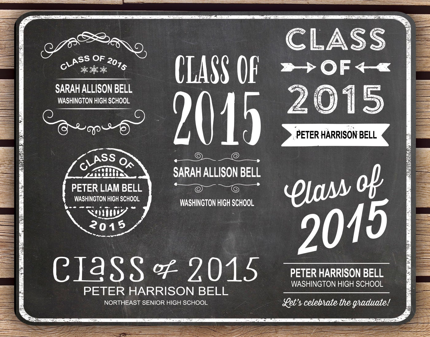 Quotes For Graduating Class Of 2015 ~ Popular items for graduating on ...