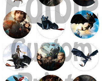 How To Train Your Dragon Cake Toppers Uk