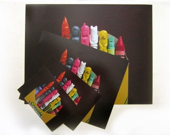 Carved Crayons Photographic Prints