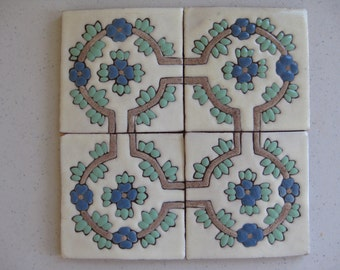 20-Heritage Corona Corner Mexican Tile (Shipping Included)