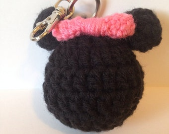 Minnie Mouse Keychain