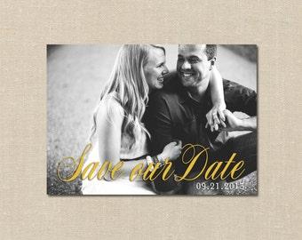 Custom Photo Save the Date - Card/Postcard SAMPLE & DEPOSIT