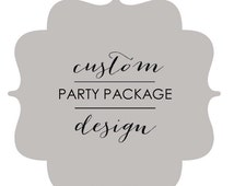 Custom FROZEN Party Package