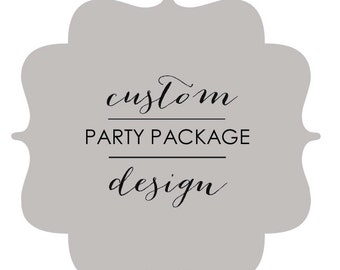 Custom TANGLED Party Package