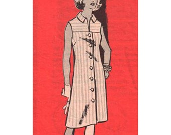 Anne Adams Sewing Pattern 4605 Vintage Dress   Size:  16