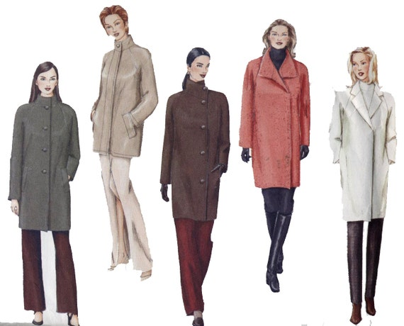 Vogue Pattern 2472 Basic Design Misses' Petite Coat