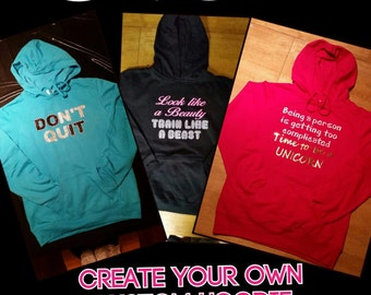 Create your own Custom Hoodie