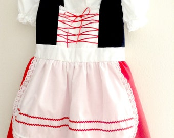 Little Red Riding Hood Dress/Costume for Girls