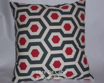 "Pair of 18"" x 18"", Premier Print Pillow Covers"